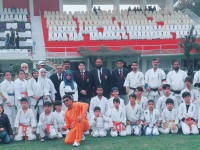 Kyokushin Karate IKO-Matsushima performed in Demonstration on the Eve of Pakistan Railways Athletics and Sports Day 8-9 March 2019.