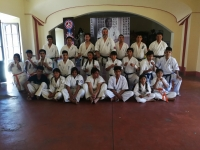 Seminar and Kyu test was held in Bolivia Chile