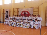 Kyu test was held in Russia on 19th May 2019