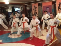Kyu test was held in Amur Russia on 25th May 2019