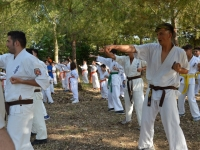 Karate Seminar and  Dan  test   were held in Salento,Italia