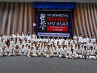 The Training seminar and Dan test were held after 2nd Asian Pacific Championship Myanmar .
