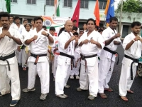 On 15 th August 2019 we had arranged a camp of Bengal Karate Association (India) with our seniors and many students.