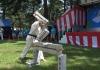 "I.K.O.MATSUSHIMA Japan Honbu Matsushima Dojo studens performed a Karate demonstration at the festival""Holiday in Maebashi"""