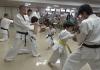 I.K.O.MATSUSHIMA Japan Honbu Matsushima Dojo studens performed a Karate demonstration at the Retirement home in Shibukawa on 16th September 2019