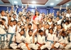 I.K.O. Matsushima Intra School Kyokushin Karate Championship & Gradation Test 2019 was held in India