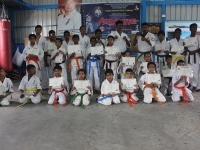 Kyu test, Seminar & Belt Ceremony was held in India on 13th October 2019