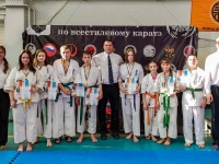 """Team of Nutrikhin Dojo (IKO Matsushima) successfully performed at the all-style karate championship in Khabarovsk (Far East of Russia)."