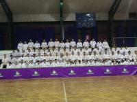The  (Tournament, Seminar, Dan Test, )was held in Chile