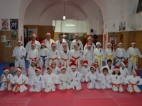Kyu grading was held in Italy