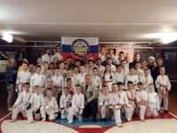 Kyu test Was held in Russia on 1st~10th December 2019