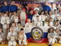 A children s New Year tournament was held in Blagoveshensk Russia on 21st December 2019