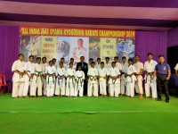All India Mas Oyama Karate Tournament was held in West Bengal on 27-29th December 2019