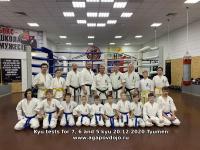 Kyu test was held in Tyumen Russia