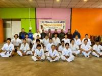Dan and Kyu test was held in Nepal
