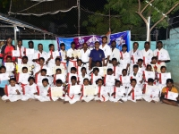 Kyu grading was held in India.
