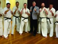 The Dan grading test was held in Tasmania,Australia
