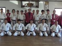 Dan test was held at Matsushima Dojo,in Gumma,Japan.
