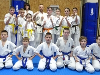 Dan and Kyu test was held in Poland on 29th January 2021