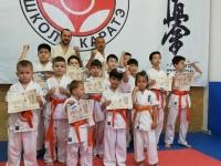Kyu test was held in Almaty Kazakhstan On 16th May 2021
