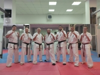 Dan test and traning was held in Russia on 9th May 2021