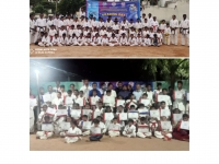 Kyu grading was held in India on 17th September 2021.