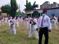 Belt gradation ceremony was held in West Bengal India on 3rd October 2021