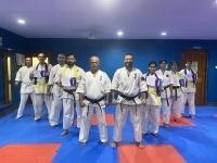 Belt gradation ceremony  was held in India