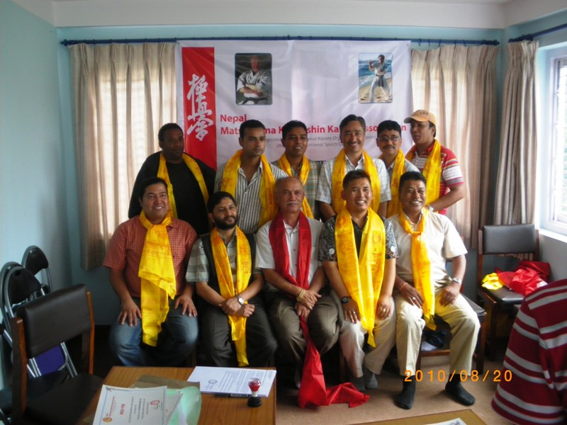 Nepal Matsushima Kyokushin Karate Association Was Approved