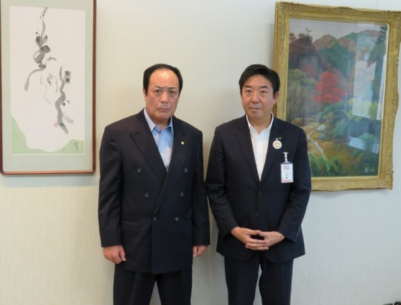 The Mayor Mr.Ryu Yamamoto