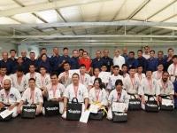 2018年3月17日、インドネシア支部でリング空手の大会が行われました。