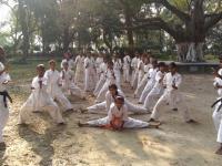インド支部の新しい道場の活動が報告されました。