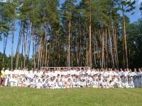 UKKA ウクライナ支部でサマーキャンプが開催されました。