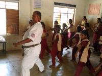 インド支部の学校で審査会が行なわれました。