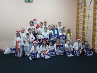 2020年12月31日、ロシアのアムール支部で新年の稽古が行われました。