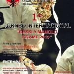 Poster Torneo Kyokushin 2013