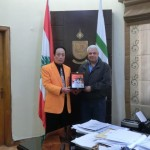 with Mayor of Tripoli